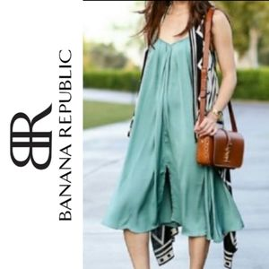 Banana Republic Trapeze Mint Dress